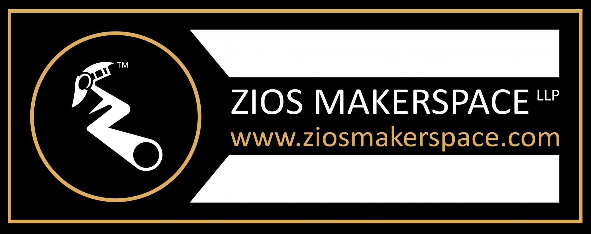 Zios Makerspace LLP Complete Logo